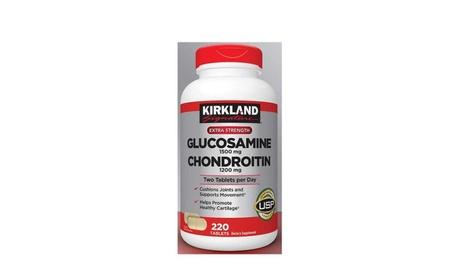 New Kirkland Signature Extra Strength Glucosamine Chondroitin