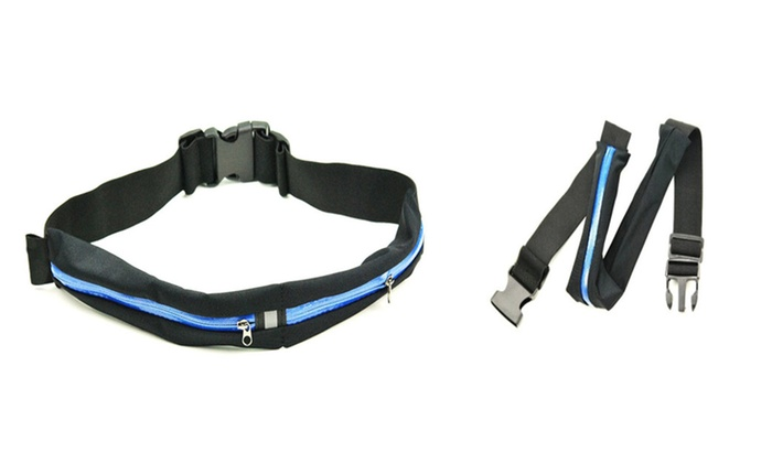 Durable Dual-Pocket Running Belt