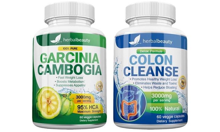 pure garcinia cambogia plus and slim cleanse plus diet