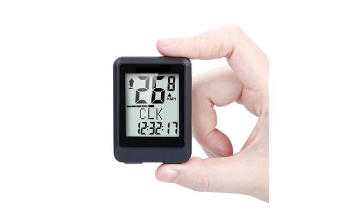 Wireless Speedometer for Bikes, Odometer, Calory Tracker