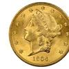 Liberty Head $20 Gold Coin (1850-1907) Rare Estate Sale