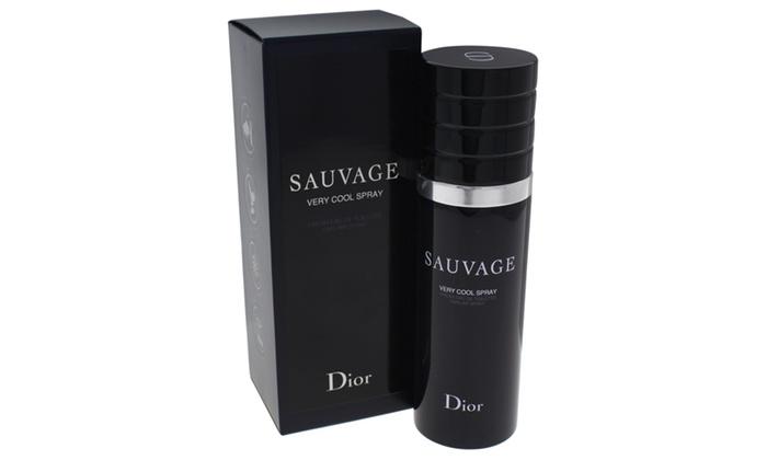7850ff75 Christian Dior Sauvage Very Cool Spray Eau de Toilette for Men (3.4 Fl. Oz.)