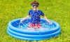 Inflatable Three Ring Pool For Kids & Pets