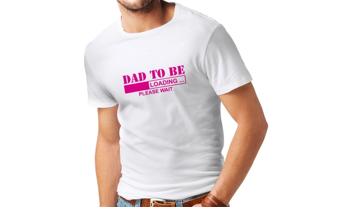 7cf8623c lepni.me T Shirts for Men Dad to Be - Loading New Dad Tshirt Funny