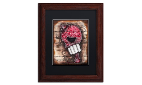 Abril Andrade 'Dying to Live' Matted Wood Framed Art d7b7e96a-42a4-4c44-a914-894af663fca6