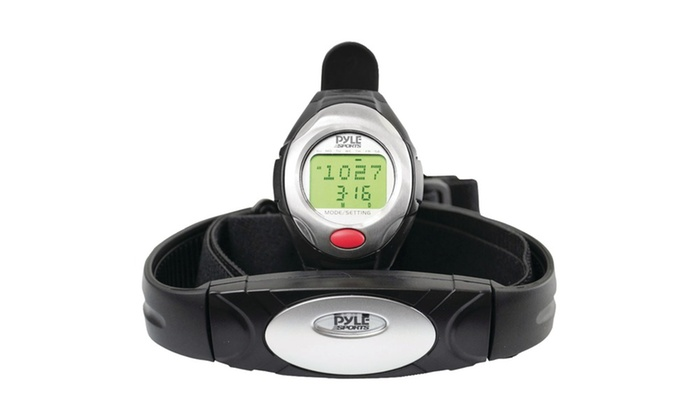 Pyle Phrm40 1button Heart Rate Watch