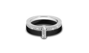 Ceramic Ring CS057 available in Black or White