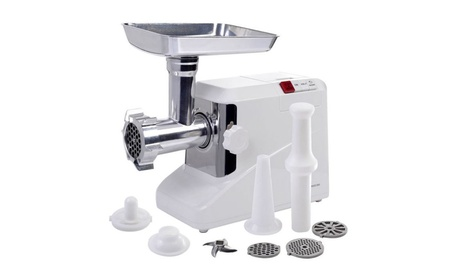 Electric Meat Grinder Industrial Meat Grinder 3 Speed 3 Blade 2000W photo