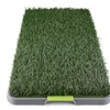 Pet Indoor or Outdoor Synthetic Grass Pee Pads Potty Training Tool