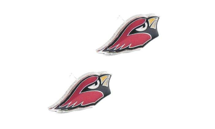 d616a1605 Sports Team Logo Post Stud Logo Earring Set Charm Gift NFL | Groupon