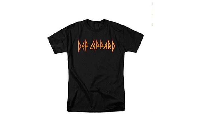 Def Leppard Logo T Shirt and Exclusive Stickers