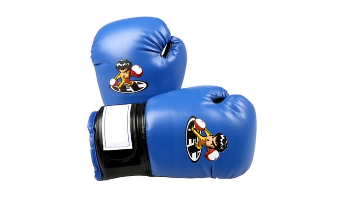 PU Kids Cartoon Sparring Boxing Gloves for Training | Groupon