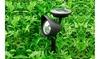 3 LED Solar Outdoor Spotlight Garden Lamp Spot Light Path Light