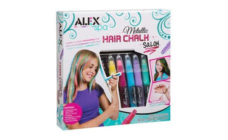 Alex Brands 0A738WM Spa Metallic Hair Chalk Salon ae8ad110-48df-41e8-aad2-de40657347d8