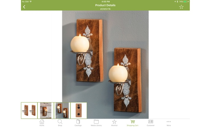 Reclaimed Wood Candle Sconces (Set of 2) ...  sc 1 st  Groupon & Reclaimed Wood Candle Sconces (Set of 2) | Groupon