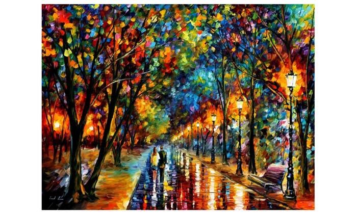 Bon When Dreams Come True U2014 Oil Painting On Canvas By Leonid Afremov.