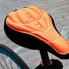 3D Cushioned Saddle Bicycle Seat Cover (1- or 2-Pack)
