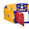 Baby Playpen Kids 8 Panel Home Indoor Outdoor Yard Safety Play Center