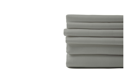 6 PIECE EGYPTIAN COTTON FEEL NICE SHEETS 1800 SERIES DEEP POCKETS 4 PILLOWCASES