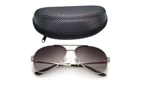 LotFancy Men's Aviator 61mm Sunglasses With Carrying Case,100% UV 400 9d5dbfde-cb0e-4bf9-b9c4-12c572d98cff