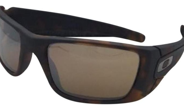 cf7dab033b81 Oakley Fuel Cell Matte Tortoise/Tungsten Iridium Mens Sunglasses -  OO9096-9096H5