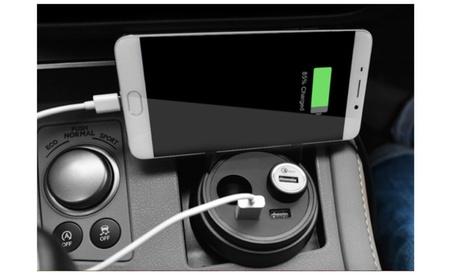 Car Charger Dual-USB And 12V Port Adaptor f36cb7a3-6aa8-4822-9613-60d997f24166
