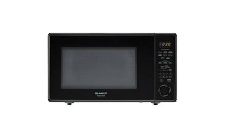 Sharp 1.8 Cu Ft Microwave, Black 47db08c6-49b4-4a21-b42a-52a1662d87de