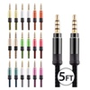 3.5mm AUX AUXILIARY CORD Male to Male Stereo Audio Cable PC MP3