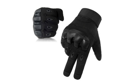 Military Rubber Hard Knuckle Tactical Motorcycle Touchscreen Gloves 61ae00b7-6998-47e3-8c0a-5b956bcd9b96