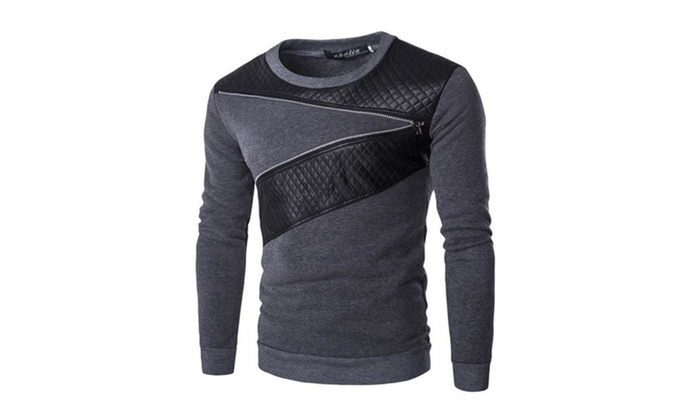 Men's Pullover Fashion Long Sleeve Casual Sweatshirt