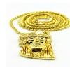 Unisex  Gold Chain Jesus Chocker Necklace