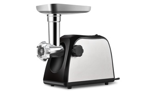Electric Meat Grinder 2000W Stainless Steel Sausage Stuffer Maker Home Use