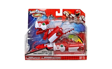 Power Rangers Dino Super Charge - T-Rex Zord Morph-N-Pop Charger 7ee4258e-2238-4557-bf36-477a772721e6