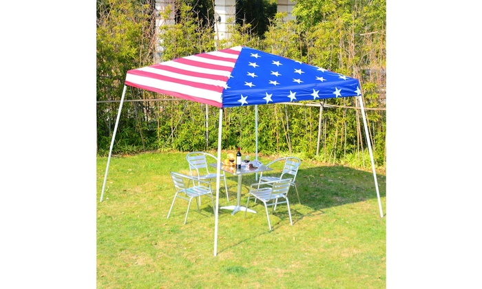 10/'x10/' Pop Up Canopy Wedding Party Tent Outdoor Folding Gazebo Shade Shelter US