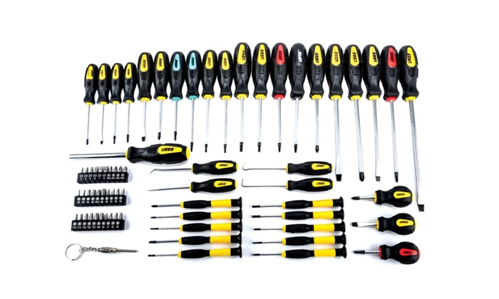 JEGS 69-pc Magnetic Screwdriver Set