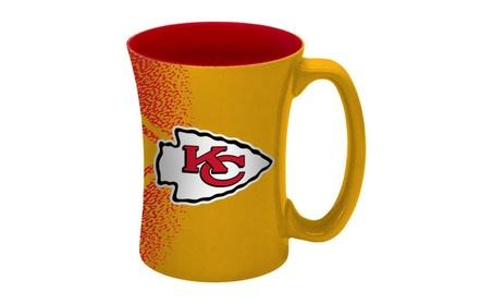 Kansas City Chiefs Coffee Mug - 14 oz Mocha 8518ee30-7523-417d-9e52-85f18917585f