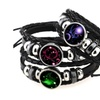 12 Constellation Bracelet Women & Men Casual Braided Leather Bracelets