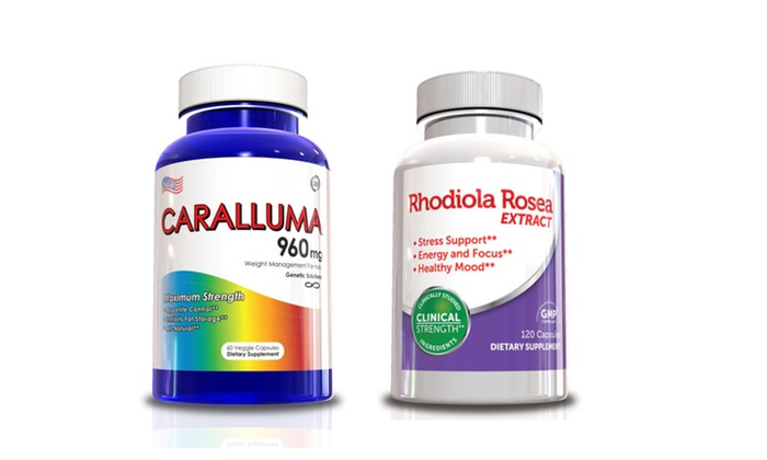 Buy It Now : Weight Loss Supplements - Caralluma Fimbriata & Rhodiola Rosea Supply