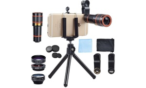 Apexel 4-in-1 Smartphone Camera System