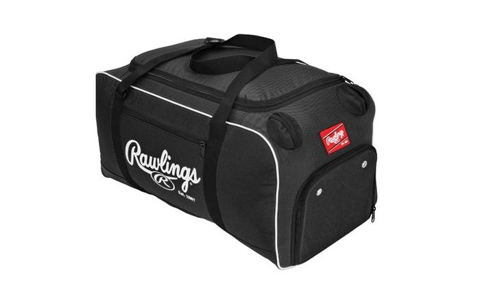 Rawlings Covert Baseball Or Softball Bat Duffel Bag