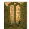 Caspar Friedrich Ruins of the Oybin Monastery Canvas Print