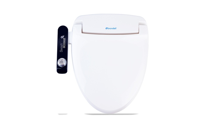 Tremendous Swash Ecoseat 100 Bidet Toilet Seat Elongated White Groupon Ibusinesslaw Wood Chair Design Ideas Ibusinesslaworg