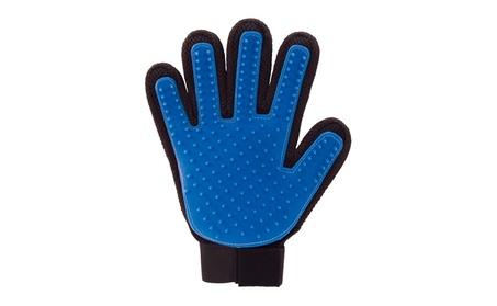 True Touch De-shedding Grooming Glove For Dogs Cats Pets 93a7dd4b-b572-4b62-943f-5dd691a5de11