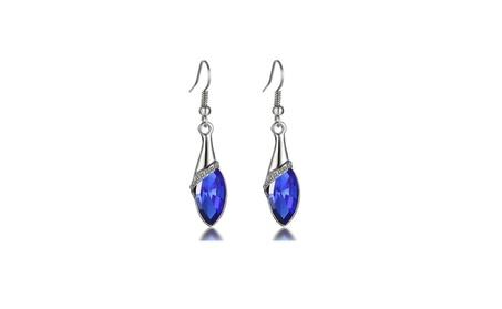 Shimmering Crystal Drop Earrings 3e91b08c-0d06-4de7-beb0-603d382695a1