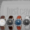Just Cavalli Men's Patch Collection Casual Date Watch
