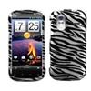 Insten Zebra Skin (2D Silver) Phone Case For Htc: Amaze 4g