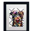 Dean Russo 'Choose Adoption' Matted Black Framed Art
