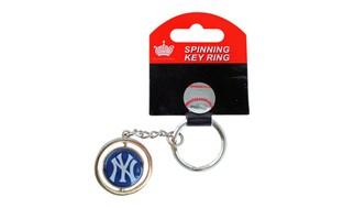 MLB New york yankees 3d baseball spinning key chain