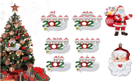 2020 Special Quarantine Family Christmas Ornaments  Personalized Gifts for All