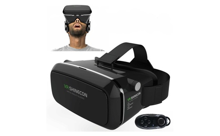 VR Virtual Reality 3D Glasses with Bluetooth Controller for Smartphone 9c3c41c6-e0a5-473d-ab8f-7777995161bb